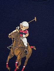 Ralph Lauren Kids - Polo Bear & Big Pony Cotton Tee - pattern short-sleeved t-shirt - french navy - 2