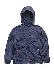 COATED POLY-WINDBREAKER-OW-JKT - FRENCH NAVY