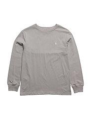 Cotton Jersey Crewneck T-Shirt - SOFT GREY