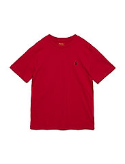 Cotton Jersey Crewneck Tee - RL 2000 RED