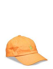 Cotton Chino Baseball Cap - THAI ORANGE