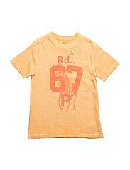 Cotton Jersey Graphic T-Shirt - THAI ORANGE