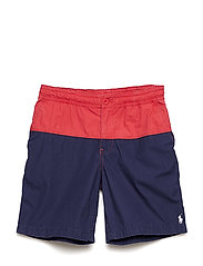 Polo Prepster Cotton Short - MAINE RED