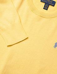 Ralph Lauren Kids - Cotton Crewneck Sweater - knitwear - oasis yellow - 2