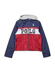 Graphic Hooded Jacket - RALPH RED