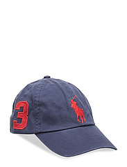 CHINO TWILL-BIG PP CAP-AC-HAT - BOATHOUSE NAVY