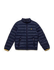 5d7b9adc8 Ralph Lauren Kids. Cotton french terry sweatshirt £35.19 £69 · Packable  Quilted Down Jacket - FRENCH NAVY
