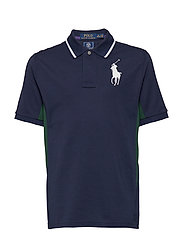 Wimbledon Ball Boy Polo Shirt - FRENCH NAVY