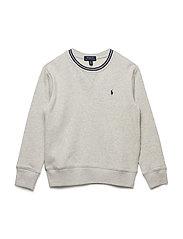 Cotton-Blend-Fleece Sweatshirt - LT SPORT HEATHER
