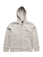 Double-Knit Full-Zip Hoodie - LT SPORT HEATHER