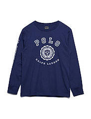 5e94938d Cotton Jersey Graphic T-Shirt - BOATHOUSE NAVY. 35%. Ralph Lauren Kids
