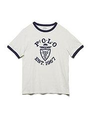 Cotton Jersey Graphic T-Shirt - DECKWASH WHITE