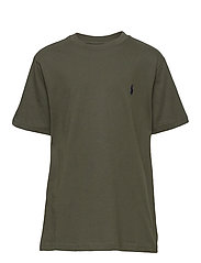 Cotton Jersey Crewneck Tee - COMPANY OLIVE