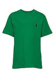 Cotton Jersey Crewneck Tee - LIFEBOAT GREEN