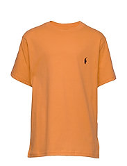 Cotton Jersey Crewneck Tee - THAI ORANGE