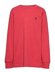 Cotton Jersey Crewneck T-Shirt - SUNRISE RED