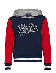 Cotton French Terry Hoodie - SPRING NAVY