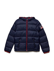 Packable Down Jacket - FRENCH NAVY