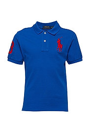BASIC MESH-SLIM POLO-TP-KNT