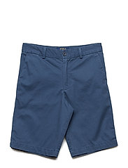 Slim Fit Cotton Chino Short - CLANCY BLUE