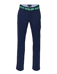 STRTCH TISSUE CHINO-BELTED PANT-BT-