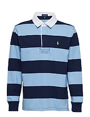 YD JERSEY-LS RUGBY-TP-KNT - COLLIN BLUE MULTI