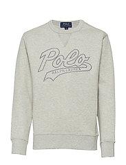 Cotton-Blend Sweatshirt - LIGHT SPORT HEATH