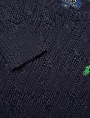Ralph Lauren Kids - Cable-Knit Cotton Sweater - knitwear - rl navy - 2