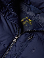 Ralph Lauren Kids - Hooded Down Jacket - untuva- & toppatakit - french navy multi - 4