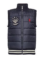 Reversible Sweater Vest - RL NAVY MULTI
