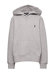 Cotton-Blend-Fleece Hoodie - DARK SPORT HEATHE