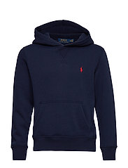 Cotton-Blend-Fleece Hoodie - FRENCH NAVY