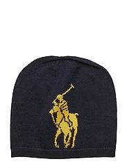 Big Pony Wool Hat - RL NAVY