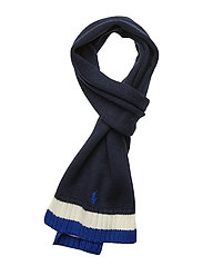 SCARF-APPAREL ACCESSORIES-SCARF - RL NAVY