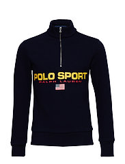 Polo Sport Fleece Sweatshirt - CRUISE NAVY
