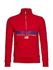Polo Sport Fleece Sweatshirt - RL 2000 RED