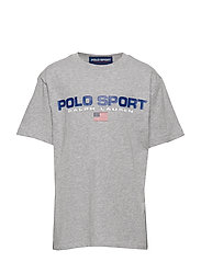 Polo Sport Cotton Jersey Tee - ANDOVER HEATHER