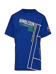 Wimbledon Cotton Graphic Tee - RUGBY ROYAL