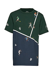 Wimbledon Cotton Graphic Tee - PRINT