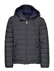 Packable Quilted Down Jacket - MECHANIC GREY