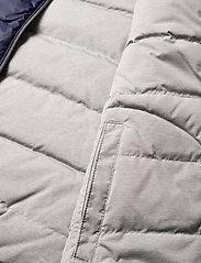 Ralph Lauren Kids - Reversible Quilted Down Vest - vests - french navy/grey - 6