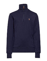 Cotton Interlock Pullover - FRENCH NAVY