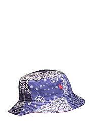 Reversible Cotton Bucket Hat - BANDANA PRINT