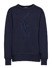 Cotton-Blend Sweatshirt - FRENCH NAVY