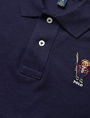 Ralph Lauren Kids - Snowboard Bear Cotton Polo - polo shirts - french navy - 2