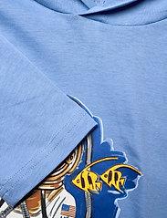 Ralph Lauren Kids - Beach Bear Hooded Tee - bluzy z kapturem - fall blue - 1