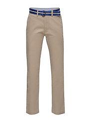 Belted Stretch Skinny Chino - CLASSIC KHAKI