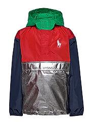 Water-Resistant Jacket - GUNMETAL