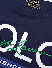 Ralph Lauren Kids - Cotton Jersey Graphic Tee - short-sleeved - newport navy - 2