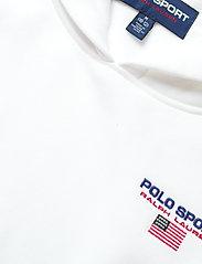 Ralph Lauren Kids - Polo Sport Fleece Hoodie - pulls à capuche - white - 3